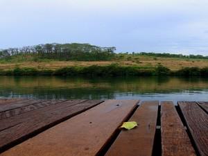 Tablado rio paranaíba CBH Triângulo Mineiro e Alto Paranaíba (Foto: Luiz Romeu de Freitas Junior/Reprodução site CBH Rio Paranaíba)