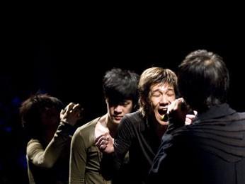 Espetáculo Darkness Poomba, no Janeiro de Grandes Espetáculos (Foto: Divulgação / Park Sang Yun)