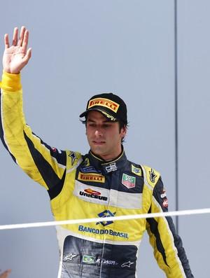 Felipe Nasr subiu ao pódio na corrida 2 da GP2 em Sochi, Rússia