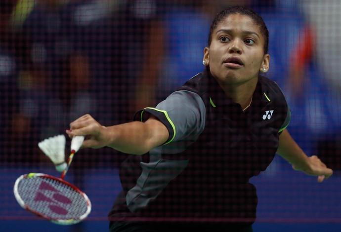 Lohaynny Vicente, evento-teste, badminton (Foto: Pedro Martins/BWF)