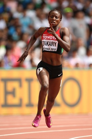Joyce Zakary Mundial de Atletismo (Foto: Getty)