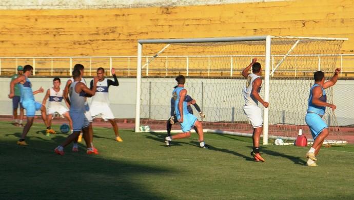 Treino Atlético-AC 2016 (Foto: Duaine Rodrigues)