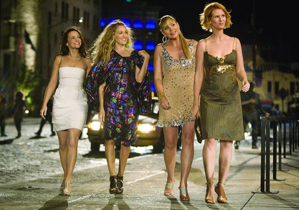 "Charlotte, Carrie, Samantha e Miranda de ""Sex and The City"" (Foto: Divulgação)"