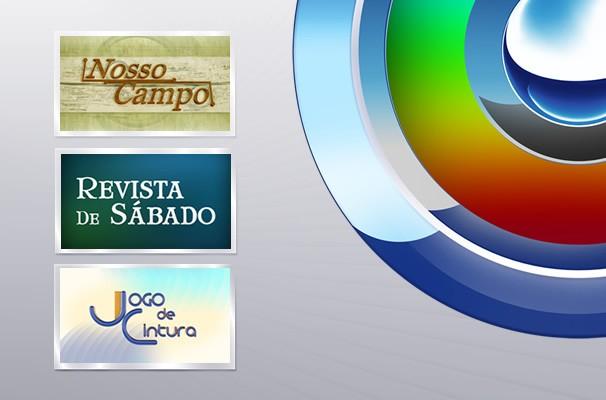 Mosaico Programas TV TEM (Foto: Arquivo / TV TEM)