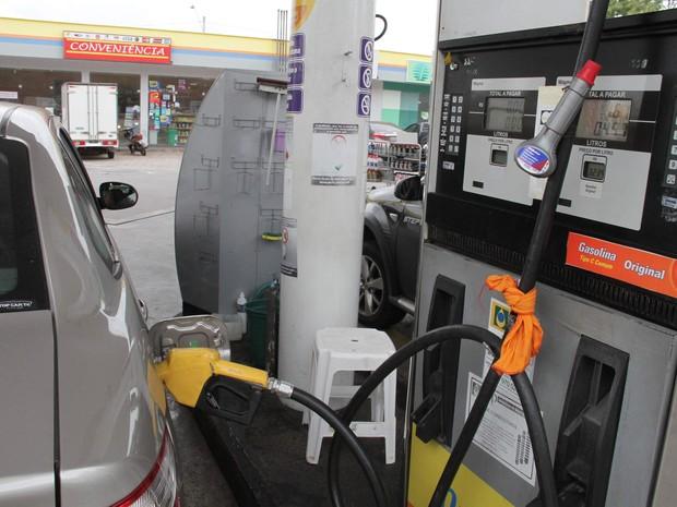Posto de combustíveis no bairro Anil, em São Luís (MA) (Foto: Biaman Prado / O Estado)