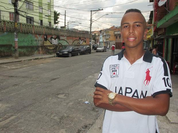Lucas Lima não vai mais ao Shopping Metrô Itaquera (Foto: Paulo Toledo Piza/G1)