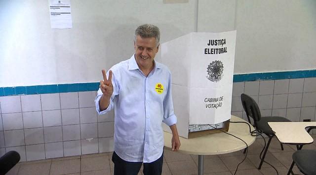 Veja como foi o domingo (26) do governador eleito Rodrigo Rollemberg