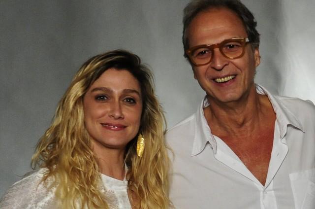 Amora Mautner e Euclydes Marinho (Foto: Estevam Avellar/TV Globo )