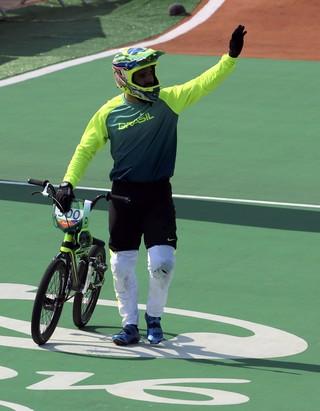 ciclismo BMX; olimpíadas; brasil; renato rezende (Foto: Paul Hanna/Reuters)