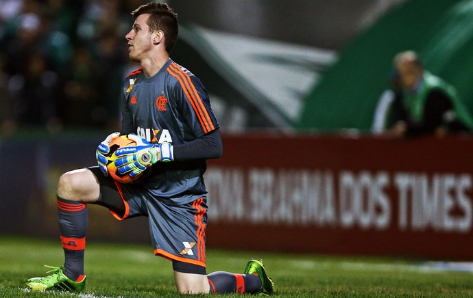 Flamengo goleiro Paulo Victor  (Foto: Getty Images)
