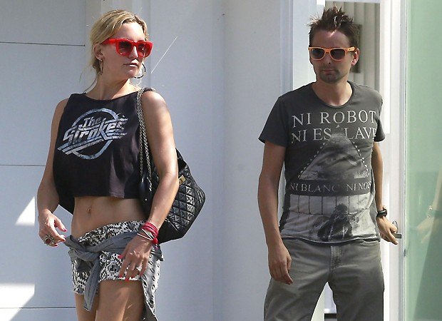 Kate Hudson e Matt (Foto: Grosby Group)