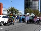 Funcionários da saúde fazem novo protesto contra salários atrasados
