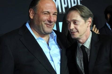 James Gandolfini e Steve Buscemi (Foto: Reprodução da internet)