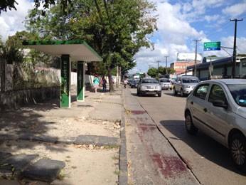 Caso aconteceu na Avenida Norte nesta sexta (1º) (Foto: Kety Marinho / TV Globo)