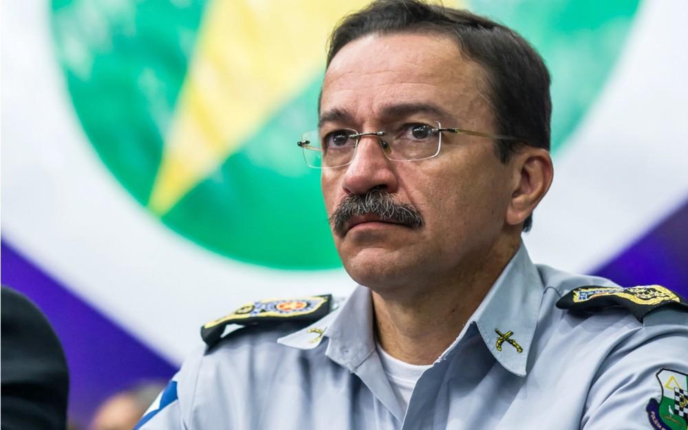 Comandante da Polícia Militar de Mato Grosso em 2015, coronel Zaqueu Barbosa (Foto: Gcom-MT)