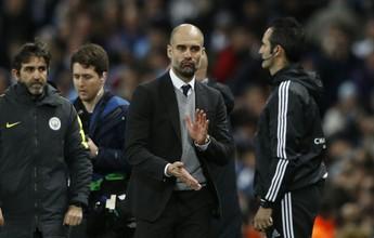"""Guardiola aponta o motivo da virada do City sobre o Monaco: """"Não desistir"""""""