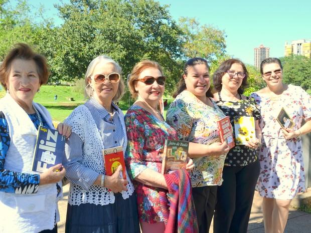 Quiosque Literário é nomeado no Dia do Livro em Piracicaba (Foto: Claudia Assencio/G1)