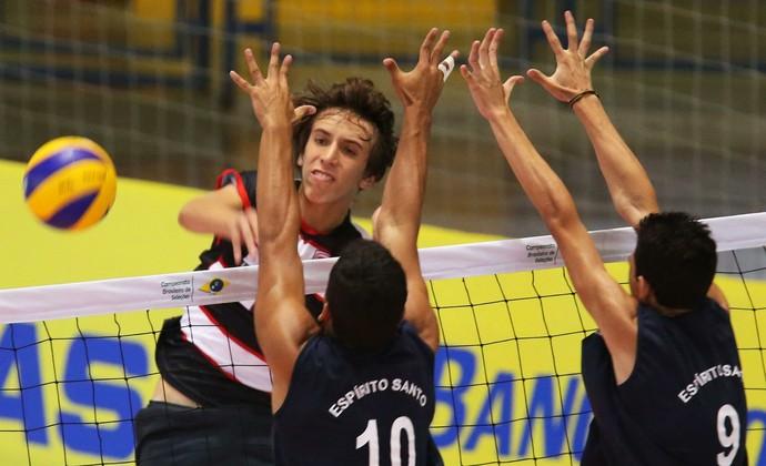 Vitor Baesso Seleção Brasileira Infanto-Juvenil Vôlei (Foto: Reprodução/Facebook)