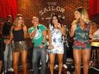 Ex de Renatinha do BBB grava clipe de música em São Paulo