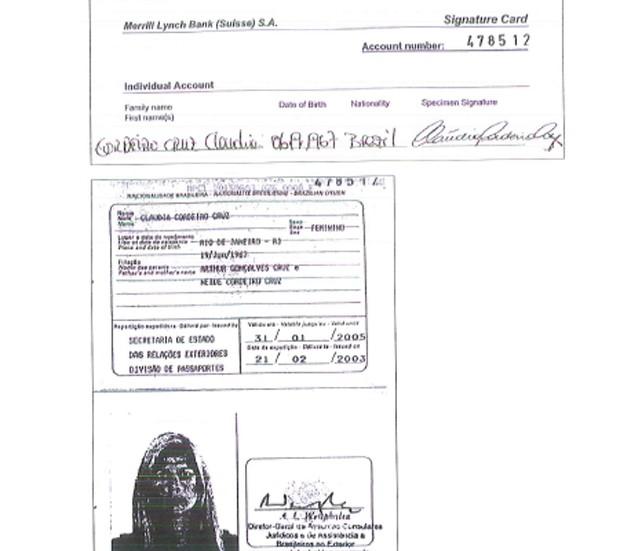 Documentos apontam que conta da empresa offshore Kopek estão no nome da mulher de Eduardo Cunha (Foto: Reprodução)
