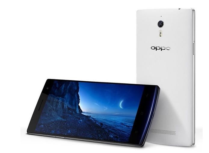 Oppo Find 7 tem sistema baseado no Android e câmera capaz de gerar foto de 50 megapixels (Foto: Divulgação/Oppo)