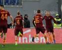 Dzeko brilha, Roma goleia a Fiorentina e recupera a vice-liderança no Calcio