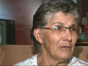 Mãe de professor morto em tiroteio em Itamonte (Foto: Reprodução EPTV)