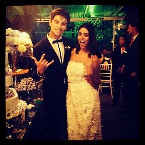 Casamento da Carol Castro (Foto: Instagram/Reprodução)