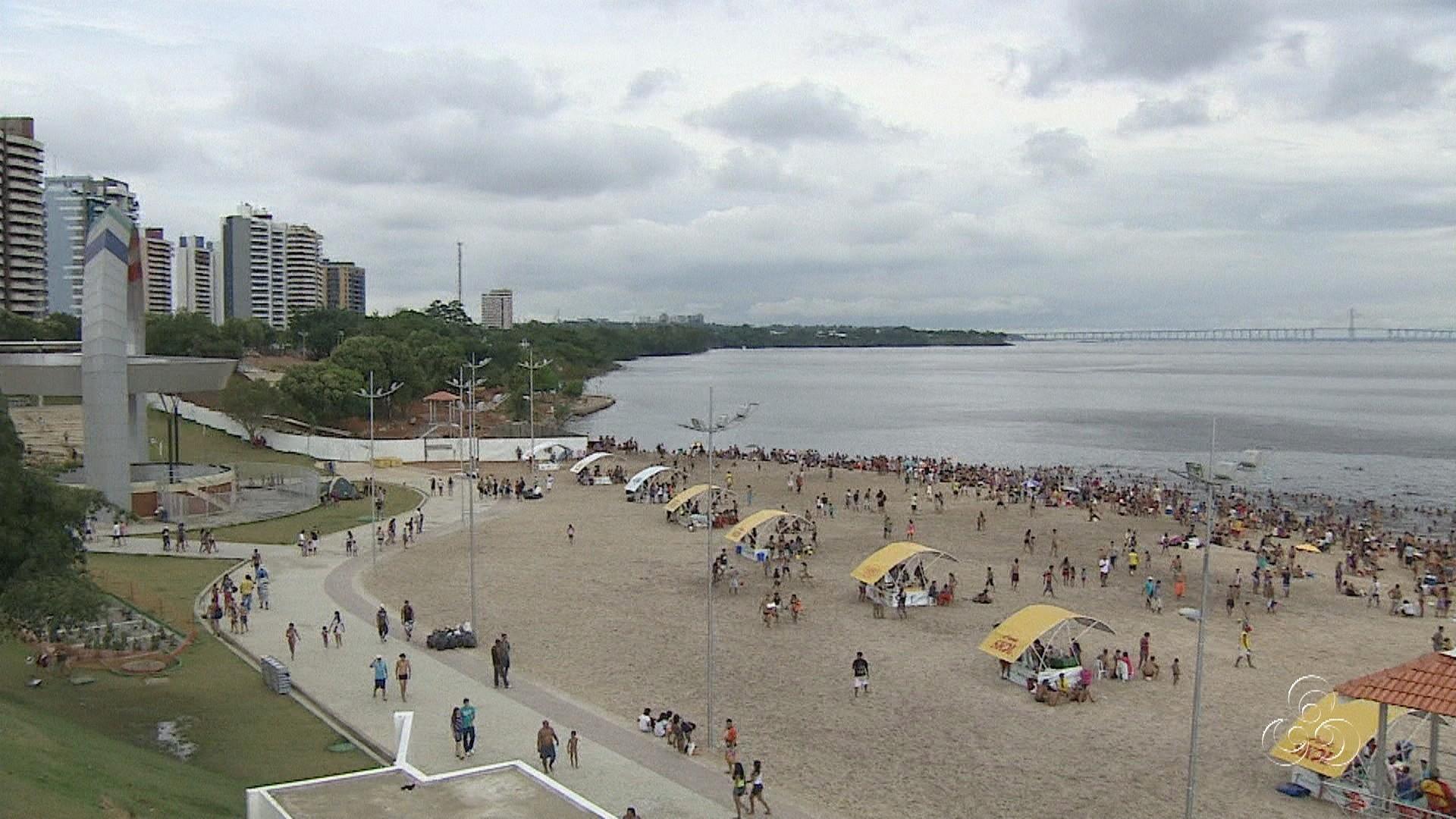 Amazônia TV: banhistas reclamam dos banheiros na Ponta Negra no AM #837648 1920x1080 Balança De Banheiro Em Manaus