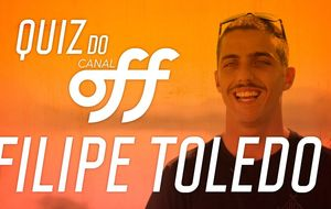 Filipe Toledo tira onda na estreia do 'Quiz do OFF'