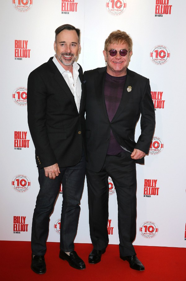 David Furnish e Elton John (Foto: Getty Images)