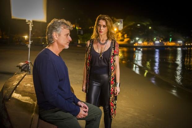 Marcello Novaes e Leticia Spiller juntos novamente em Sol Nascente (Foto: Globo / João Miguel Junior)