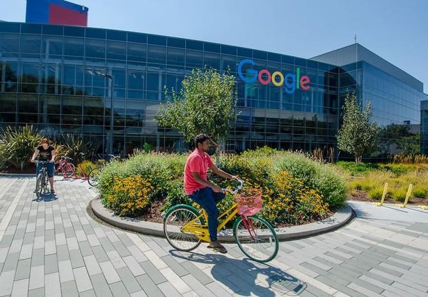 Googleplex, sede do Google em Mount View, na Califórnia (Foto: Reprodução/Facebook)