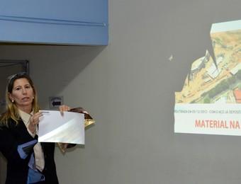 Flávia Pitombo, ex-secretária de Obras de São José dos Campos (Foto: Danilo Sardinha/GloboEsporte.com)