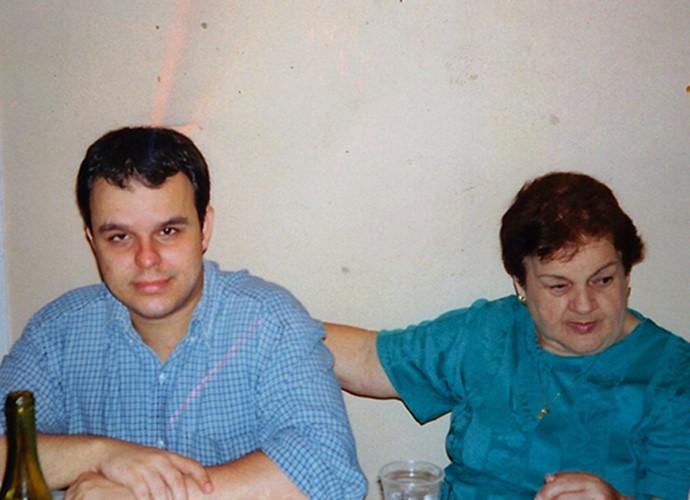 Adrilles sente saudade da sua avó Maria Teresa  (Foto: Arquivo Pessoal)
