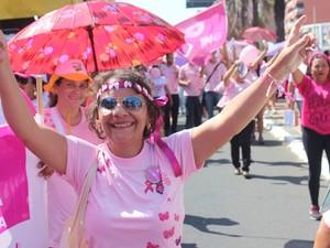 Gesuína Damasceno lutou duas vezes contra o câncer  (Foto: Beto Marques/G1 )