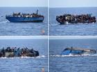 Mais de 10 mil migrantes morreram no Mediterrâneo desde 2014, diz ONU