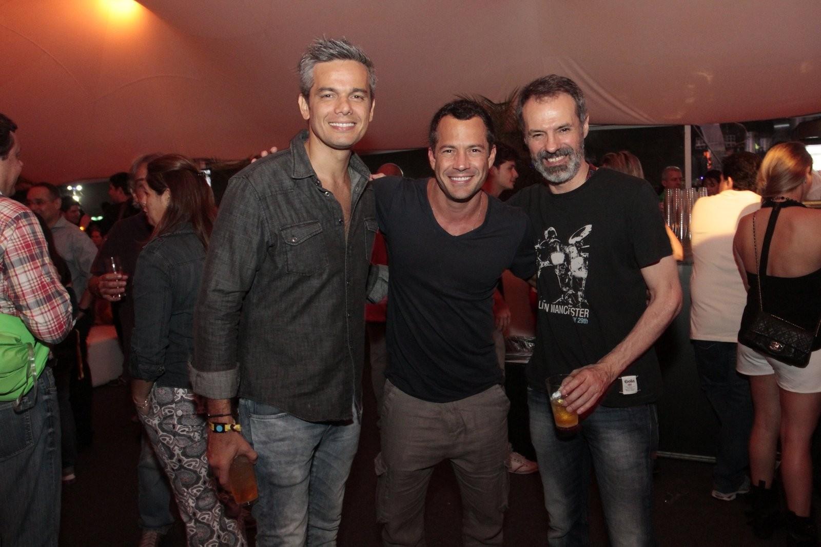 Otaviano Costa e Malvino Salvador (Foto: Reginaldo Teixeira/Revista QUEM)