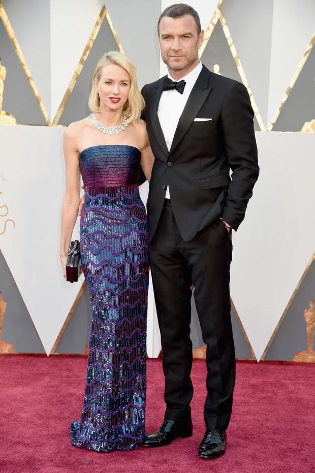 Naomi Watts e Liev Schrieber (Foto: Getty Images)