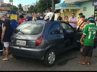 Acidente entre carros deixa feridos no bairro Torre, em João Pessoa