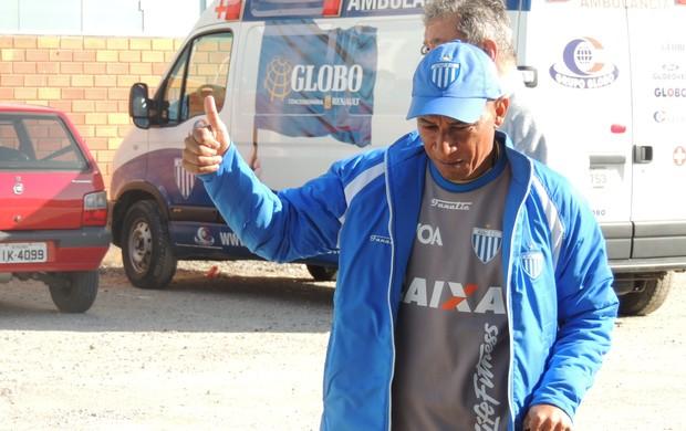 Hemerson Maria treinador avaí (Foto: Marcelo Silva)