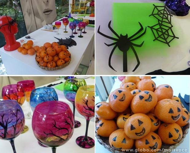 Óculos de aranha e carinha de abóbora decore sua casa para o Halloween notícias em O programa