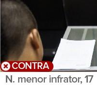 Menor N. (Foto: Arte/G1)