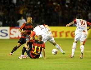 sport x oeste (Foto: Aldo Carneiro / Pernambuco Press)