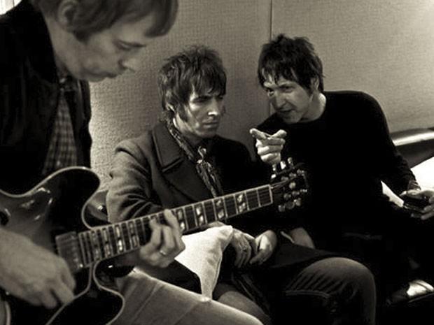 Andy Bell, Liam Gallagher e Gem Archer, do Beady Eye (Foto: Divulgação)