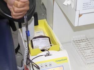 Campanha deve aumentar em 15% a doação de sangue no Hemope em Petrolina (Foto: Amanda Franco/G1)