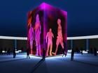 Instalação em Petrópolis, RJ, amplia silhuetas unindo arte e tecnologia