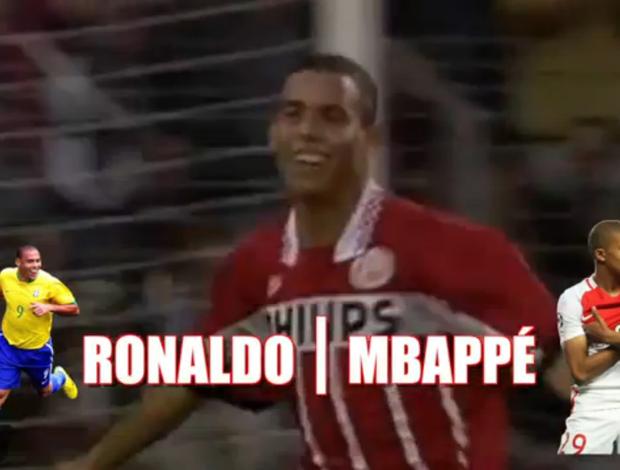 BLOG: Novo Fenômeno? Vídeo compara lances de Ronaldo e Mbappé; confira