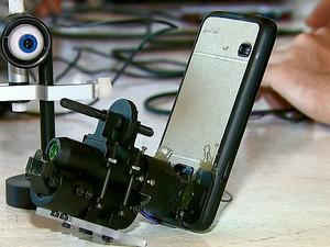 Protótipo do equipamento (Foto: Reprodução/EPTV)