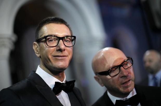 Stefano Gabbana e Domenico Dolce (Foto: Reuters)